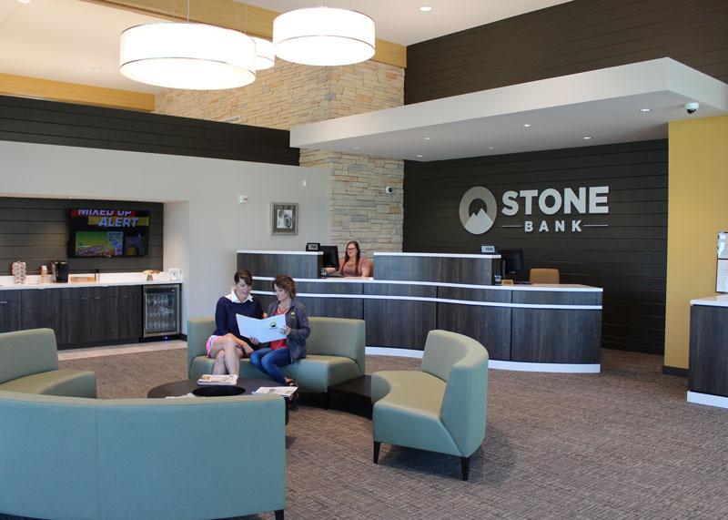 Stone Bank Lobby