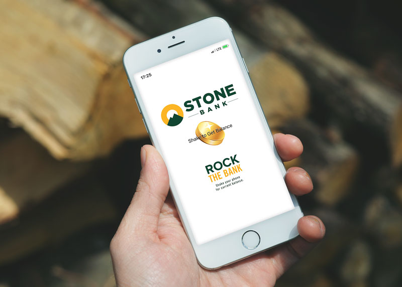 Stone Bank - Rock the Bank App